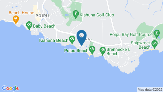 Koa Kea Hotel & Resort Map