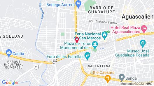 Pequeno Gran Hotel Map