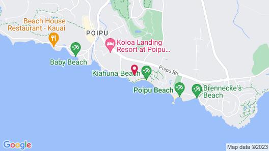 Sheraton Kauai Resort Map