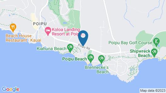 Marriott's Waiohai Beach Club Map