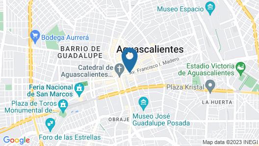 Francia Aguascalientes Map