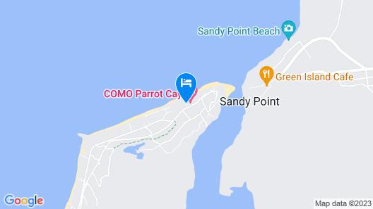 COMO Parrot Cay Map