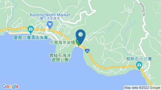 Caesar Park Kenting Map