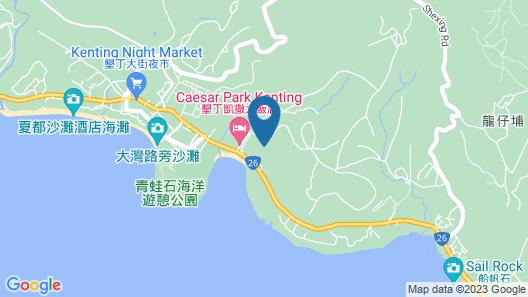 Howard Beach Resort Kenting Map