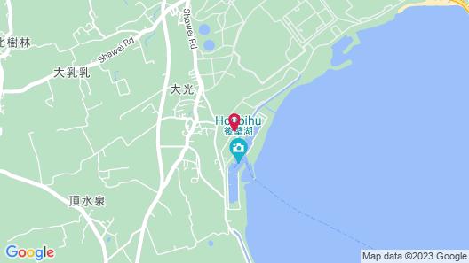 Kenting Houbihu Camping car Map