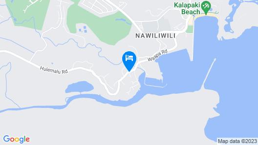 Kauai Inn Map