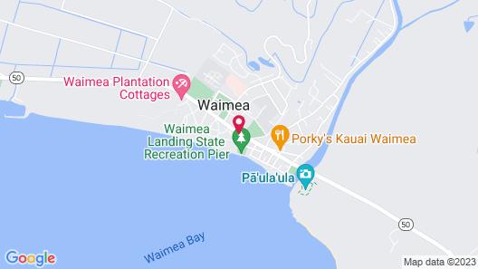 The West Inn Kauai Map