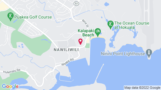 Banyan Harbor K134 At Kalapaki Beach 2 Bedroom Condo Map