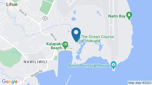 Marriott's Kauai Lagoons Map