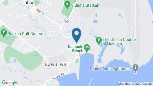 Kauai Marriott Resort Map
