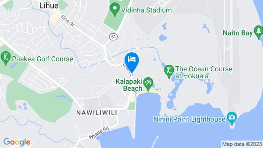 Marriott's Kaua'i Beach Club Map