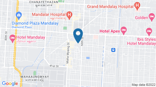Hotel Duo Swan Map