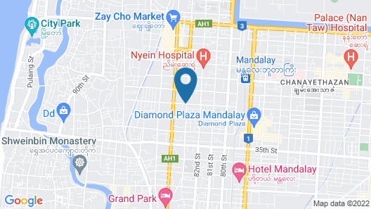Hotel A1 Map