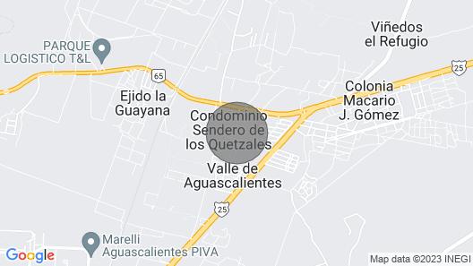 Hermosa Casa Completa en Coto Privado Map
