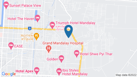A little bit of Mandalay Tavern Map