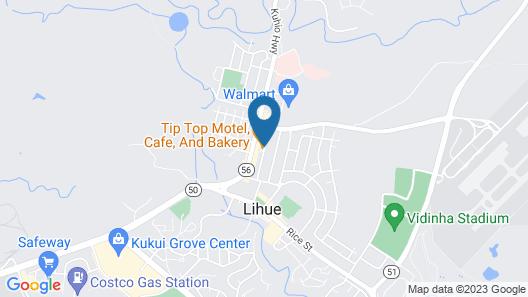Tip Top Motel Cafe & Bakery Map