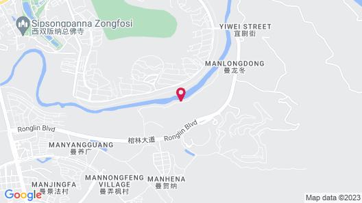 InterContinental Xishuangbanna Resort Map