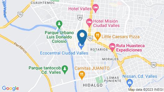 Hotel Quinta San Juan Map