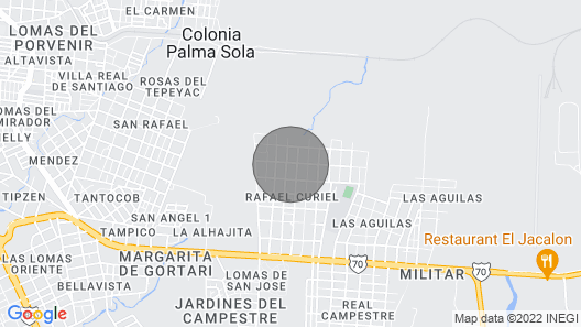 Casa K'ailal Map