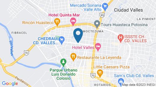 Hotel Huaxteca Inn Map