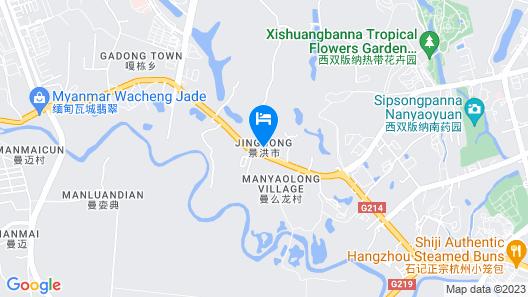 Floral Hotel · River Rhythms Pavilion Jinghong Map