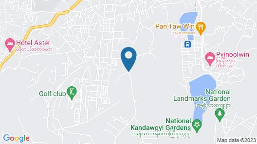 Kandawgyi Hill Resort Pyin Oo Lwin Map