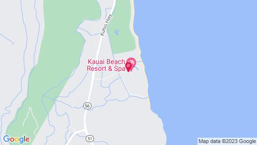 Kauai Beach Resort & Spa Map