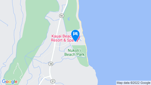 Kauai Beach Resort Map