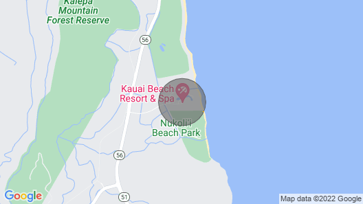 $79 Last Minutes Special with Gorgeous Kauai beach resort, romance and fun Map