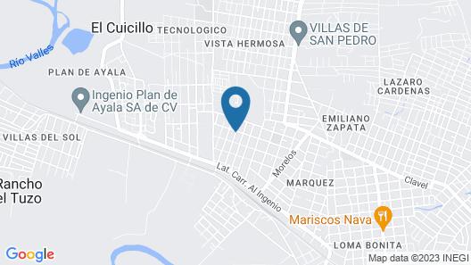 Hotel Tantalá Map