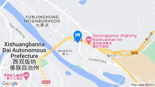 Siam Hotel Xishuangbanna Map