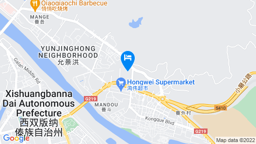 Xishuangbanna Elephanthome Boutique Guest House Map