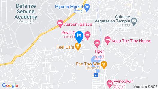Royal Green Hotel Map