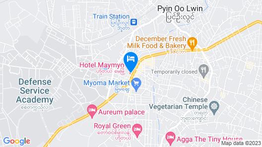 Hotel Maymyo Map