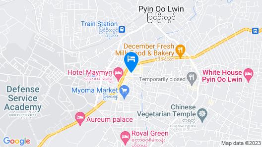Hotel Sakura Pyinoolwin Map