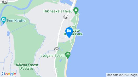 Castle Kaha Lani , a Condominium Resort Map