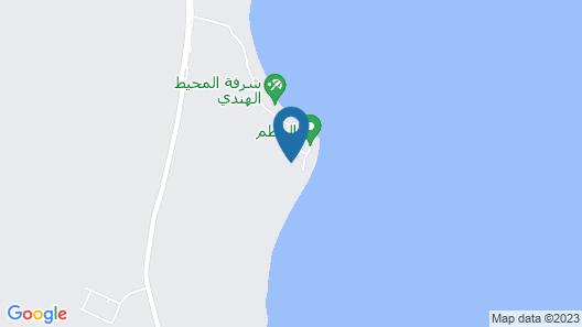 Arabian Sea Motel Map
