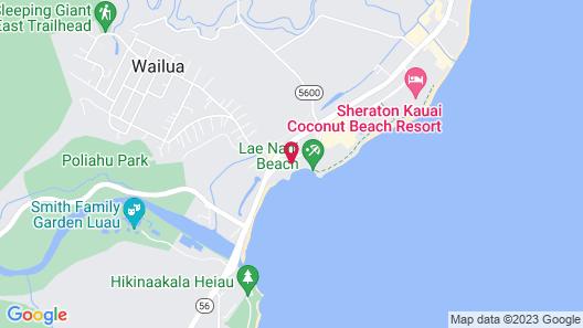 Kapa'a Sands 10 Studio Map