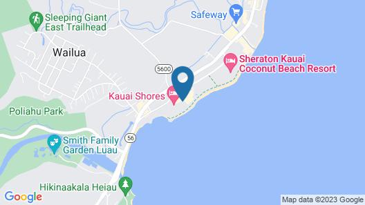 Aston Islander on the Beach Map