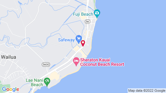 Waipouli Beach Resort G302 - 2 Br condo by RedAwning Map