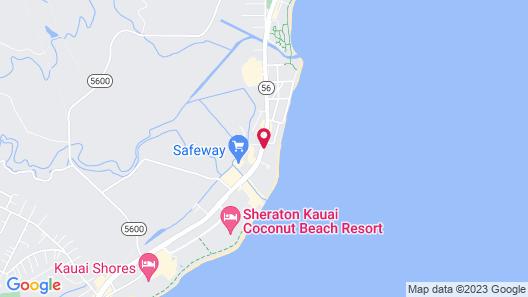 WorldMark Kapaa Shore Map
