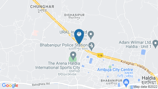 HOTEL LANDMARCPLAZA Map