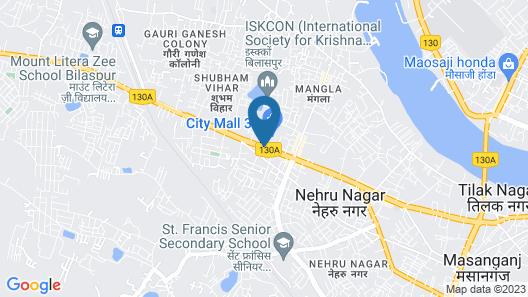 Courtyard by Marriott Bilaspur Map