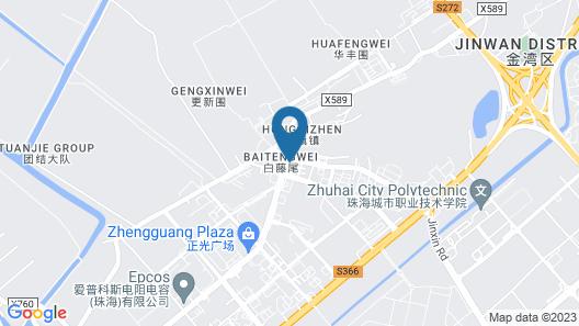 GreenTree Inn Zhuhai Changlong Airport Map