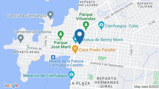 Casa Bella Epoca Map
