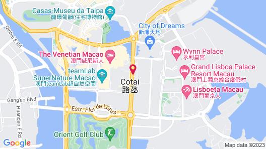 Sheraton Grand Macao Map