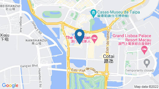 JW Marriott Hotel Macau Map