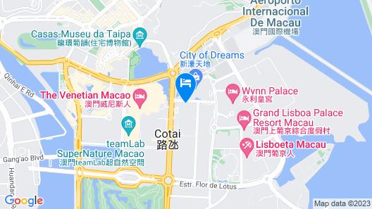 St. Regis Macao Map