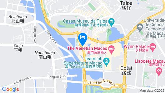 Hotel Okura Macau Map