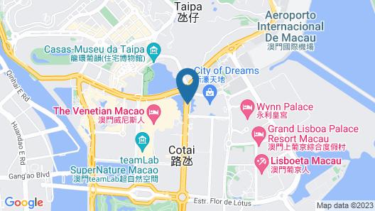 Grand Hyatt Macau Map